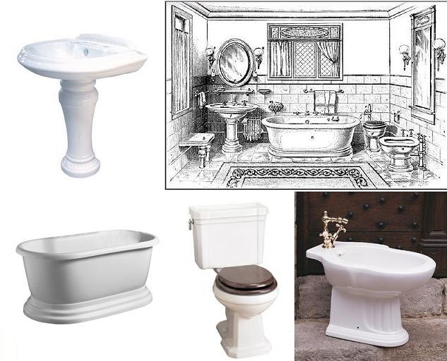 эдвардианская ванная комната