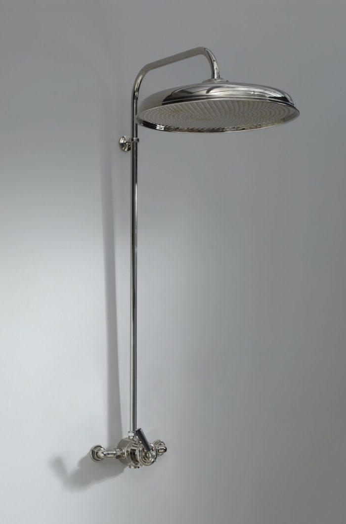 Water Monopoly душевая колонна с тропическим душем в традиционном английском стиле, большого диаметра от 40 до 50 см
